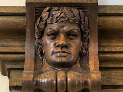 Gym Carved Faces 2