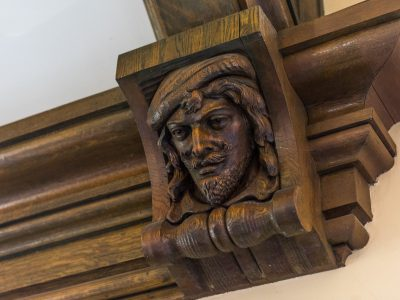 Gym Carved Faces 7