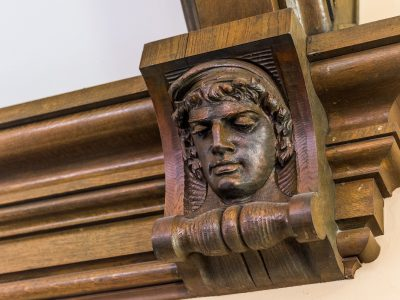 Gym Carved Faces 9